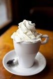 καυτός κρέμας σοκολάτα&sigma Στοκ Εικόνα