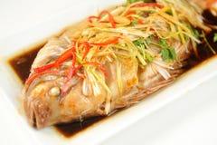 καυτός πικάντικος ψαριών Στοκ εικόνα με δικαίωμα ελεύθερης χρήσης