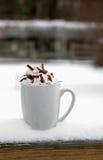 Καυτός σοκολάτα ή καφές στοκ εικόνες