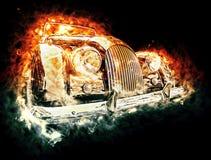 καυτός τρύγος αυτοκινήτ&om Στοκ φωτογραφία με δικαίωμα ελεύθερης χρήσης