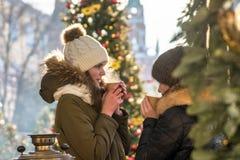 καυτός χειμώνας ποτών στοκ φωτογραφίες