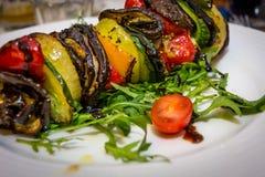 Καυτός χορτοφάγος shashlik Στοκ εικόνα με δικαίωμα ελεύθερης χρήσης