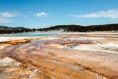 Καυτό ελατήριο, εθνικό πάρκο Yellowstone Στοκ εικόνα με δικαίωμα ελεύθερης χρήσης