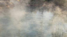 Καυτό ελατήριο καπνού από τα καυτά ελατήρια απόθεμα βίντεο