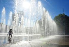 καυτό καλοκαίρι διασκέδ Στοκ Φωτογραφία