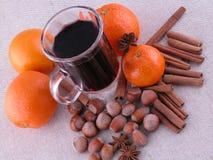 καυτό κρασί στοκ εικόνες
