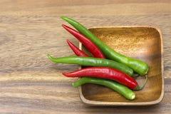 καυτό κόκκινο πιπεριών τσίλι Στοκ Φωτογραφία