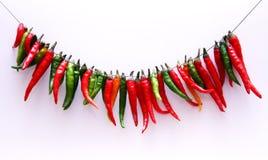 καυτό κόκκινο πιπεριών τσίλι Στοκ φωτογραφία με δικαίωμα ελεύθερης χρήσης