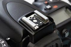 Καυτό παπούτσι για τη κάμερα DSLR στοκ εικόνα με δικαίωμα ελεύθερης χρήσης