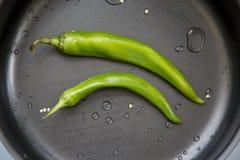 καυτό πιπέρι τσίλι Στοκ Εικόνα