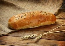Καυτό ρωσικό ψημένο ψωμί Στοκ Εικόνες