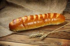 Καυτό ρωσικό ψημένο ψωμί Στοκ Φωτογραφίες