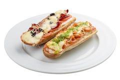 Καυτό σάντουιτς στοκ φωτογραφία