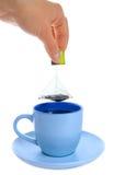 καυτό τσάι Στοκ Εικόνες
