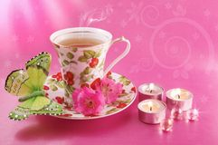καυτό τσάι στοκ εικόνα με δικαίωμα ελεύθερης χρήσης