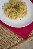 Καυτό τυρί penne στοκ φωτογραφίες με δικαίωμα ελεύθερης χρήσης