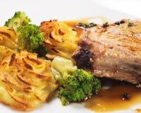 καυτό χοιρινό κρέας κρέατο Στοκ εικόνα με δικαίωμα ελεύθερης χρήσης