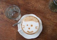 καυτό latte καφέ Στοκ φωτογραφία με δικαίωμα ελεύθερης χρήσης
