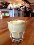 καυτό latte Στοκ Φωτογραφίες