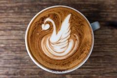 καυτό latte Στοκ φωτογραφία με δικαίωμα ελεύθερης χρήσης