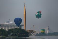 καυτό putrajaya μπαλονιών αέρα Στοκ Εικόνα