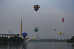 καυτό putrajaya μπαλονιών αέρα Στοκ Φωτογραφίες