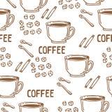 Καφές άνευ ραφής-09 Στοκ Εικόνες