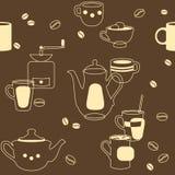 Καφές άνευ ραφής Στοκ φωτογραφίες με δικαίωμα ελεύθερης χρήσης