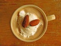 καφές αμυγδάλων Στοκ Εικόνα