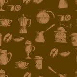 καφές ανασκόπησης άνευ ρα&p Στοκ Εικόνες
