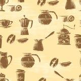 καφές ανασκόπησης άνευ ρα&p Στοκ Εικόνα