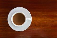 καφές ανασκόπησης ξύλινος Στοκ Εικόνες