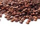 καφές ανασκόπησης το χαρτοφυλάκιό μου για να χαιρετίσει το λευκό Στοκ εικόνα με δικαίωμα ελεύθερης χρήσης