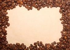 καφές ανασκόπησης grunge Στοκ Φωτογραφίες