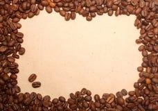 καφές ανασκόπησης grunge Στοκ Φωτογραφία