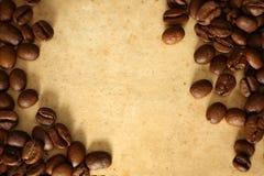 καφές ανασκόπησης grunge Στοκ εικόνα με δικαίωμα ελεύθερης χρήσης
