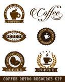 καφές αναδρομικός Στοκ Φωτογραφίες
