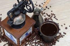 καφές αναδρομικός Στοκ Εικόνες