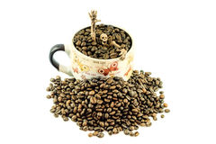 Καφές αποκριών στοκ εικόνες