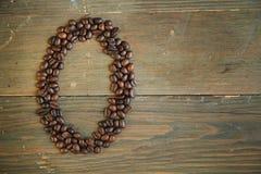 καφές αριθμός μηδέν στοκ εικόνα με δικαίωμα ελεύθερης χρήσης