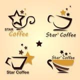 καφές αστεριών Στοκ Εικόνες