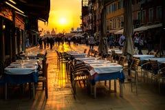 καφές Βενετία Στοκ Φωτογραφίες