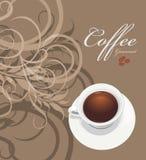 Καφές γαστρονομικός Σχέδιο για το σχέδιο τυλίγματος διανυσματική απεικόνιση