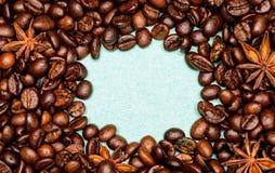 Καφές για τη δαπάνη έμπνευσης και ενέργειας Έννοια σύστασης και υποβάθρου Καφετερία ή κατάστημα Βαθμός ψησίματος στοκ φωτογραφίες με δικαίωμα ελεύθερης χρήσης