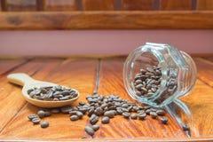 Καφές εγώ, φασόλι καφέ Στοκ Εικόνα