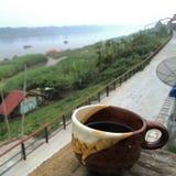 Καφές εκτός από Mekong τον ποταμό στοκ φωτογραφία με δικαίωμα ελεύθερης χρήσης