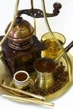 καφές ελληνικά Στοκ Φωτογραφία