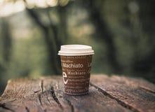 Καφές η νέα ιατρική καρδιών στοκ φωτογραφίες