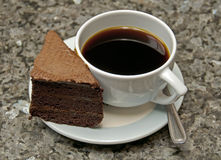 καφές κέικ Στοκ εικόνες με δικαίωμα ελεύθερης χρήσης