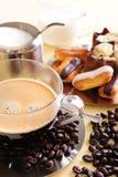 καφές κέικ Στοκ Εικόνες